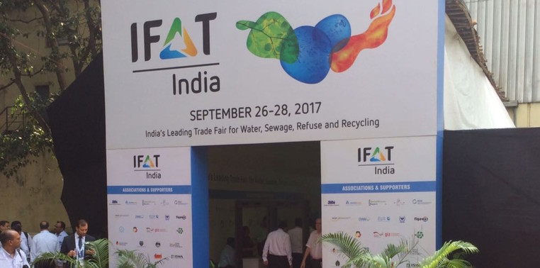 IFAT India 2017 in Mumbai