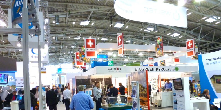 Swiss Pavilion at IFAT